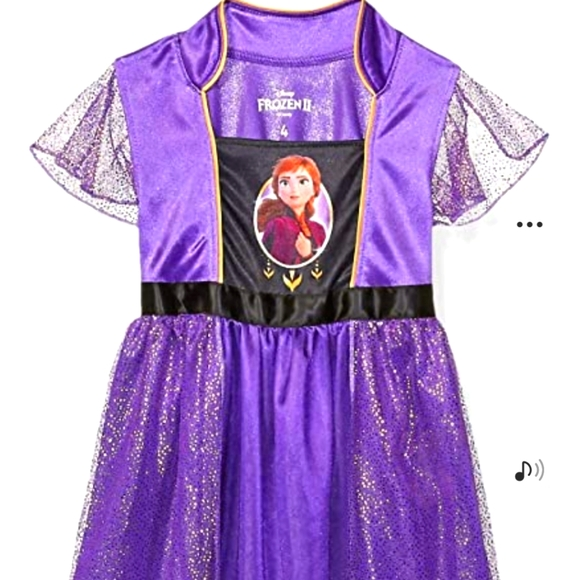 Frozen 2 Toddler 2T dress/costume/nightgown